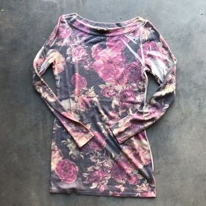 FOREVER 21 | Floral Long Sleeves Top